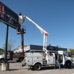 Worldwide Graphics & Sign installation