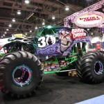 What auto show is complete without a monster truck?