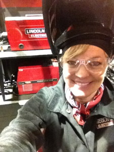 Welding school in Ohio in January. Brrrrrr