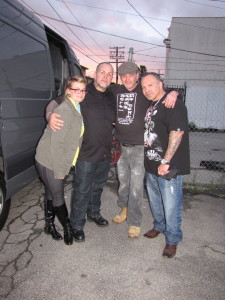 Working with great people on Tattoo Rescue