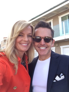 Nancy and Dann on reveal day. I am wearing one of the outfits Dann styled me in.