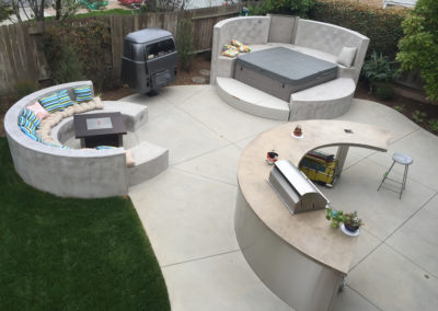 Custom VW Backyard Design